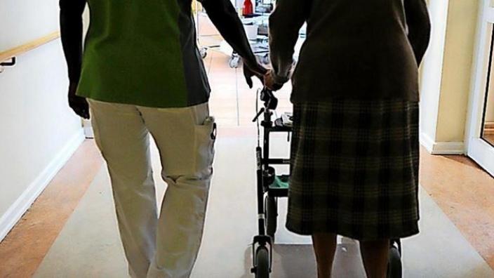 Senioren danken Pflegekräften